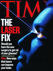 IN THE MEDIA: TIME The laser fix