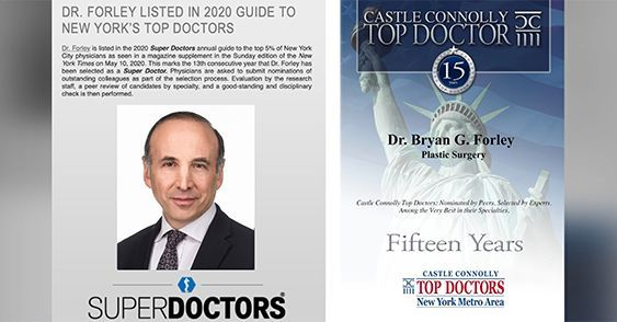 Watch Video: Dr. Forley listed in 2020 Guide to New York's top doctors