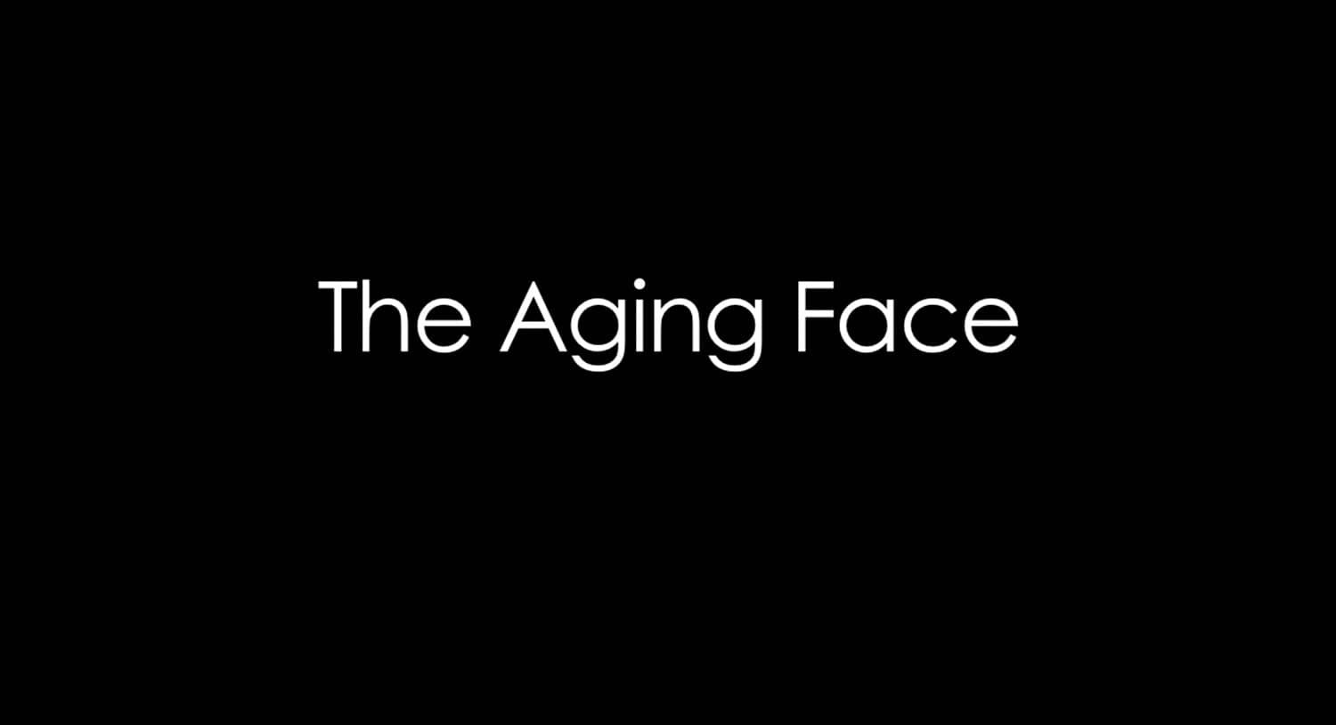 THE AGING FACE | Dr. Forley