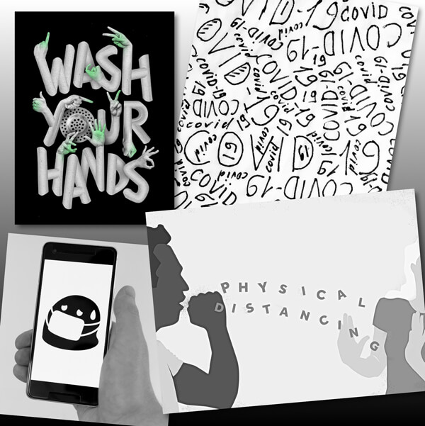 Wash your hands - covid19 - physical distancing